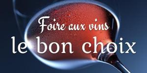 Foire aux vins, le bon choix