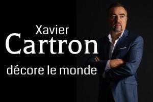 Xavier Cartron décore le monde