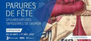 Parures de fête, splendeurs des tapisseries de Saumur