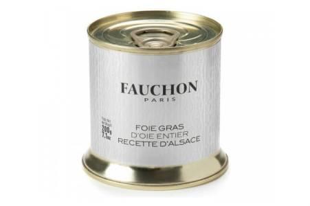 oie Gras D'Oie entier d'Alsace, Fauchon