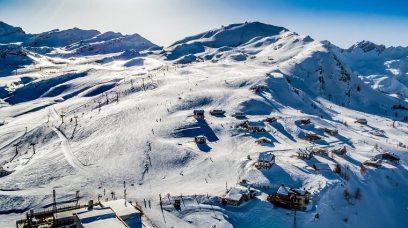 Le domaine skiable. ©Vallée d'Aoste Tourisme