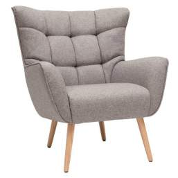 Fauteuil gris Avery, 319,99 €.