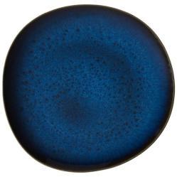 1. Assiette plate Lave Bleu, Villeroy & Boch