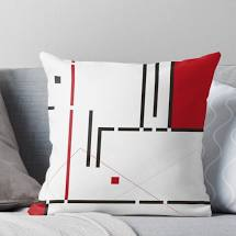 3. Coussin du style Bauhaus, Redbubble