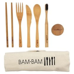 Kit repas en bambou, Cookut