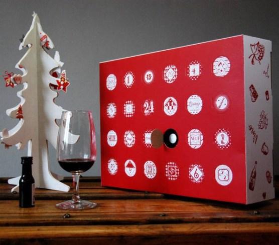 3. Calendrier du vin la Boîte du Fromager