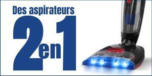 Read more about the article Des aspirateurs 2 en 1