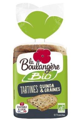 Tartines Quinoa Graineqs Bio