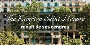 Read more about the article The Kimpton Saint Honoré renaît de ses cendres