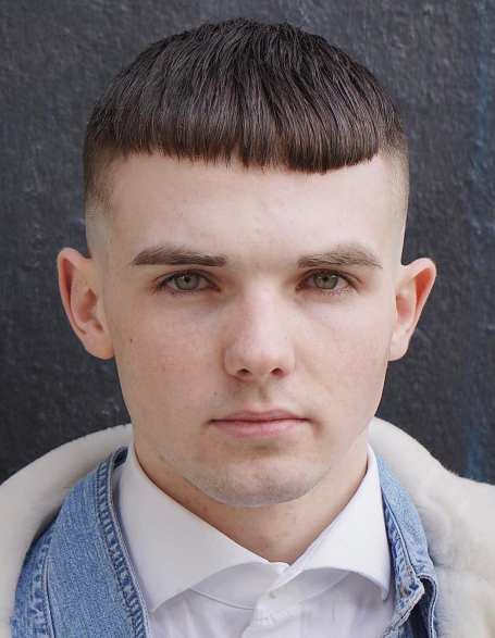 Straight Fringe with Round Face