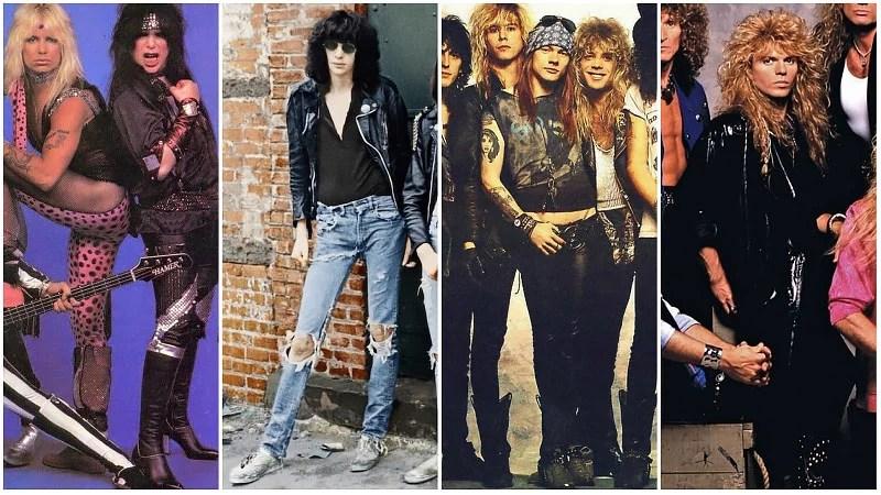Mode Rock des années 80
