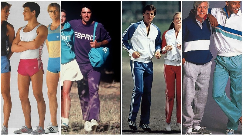 Mode sport des années 80