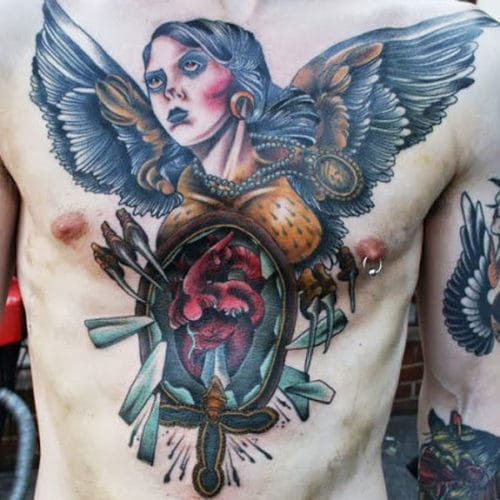 tatouage torse idées homme
