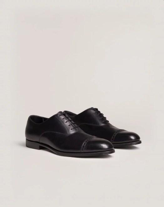 Chaussures noires Oxford | Avoir un style minimaliste pour Homme