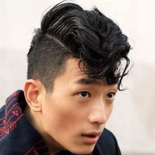 idées de coupes et coiffures pour Homme Asiatique 10