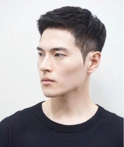 idées de coupes et coiffures pour Homme Asiatique 13