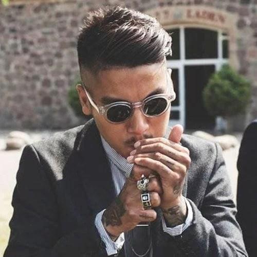 idées de coupes et coiffures pour Homme Asiatique 22