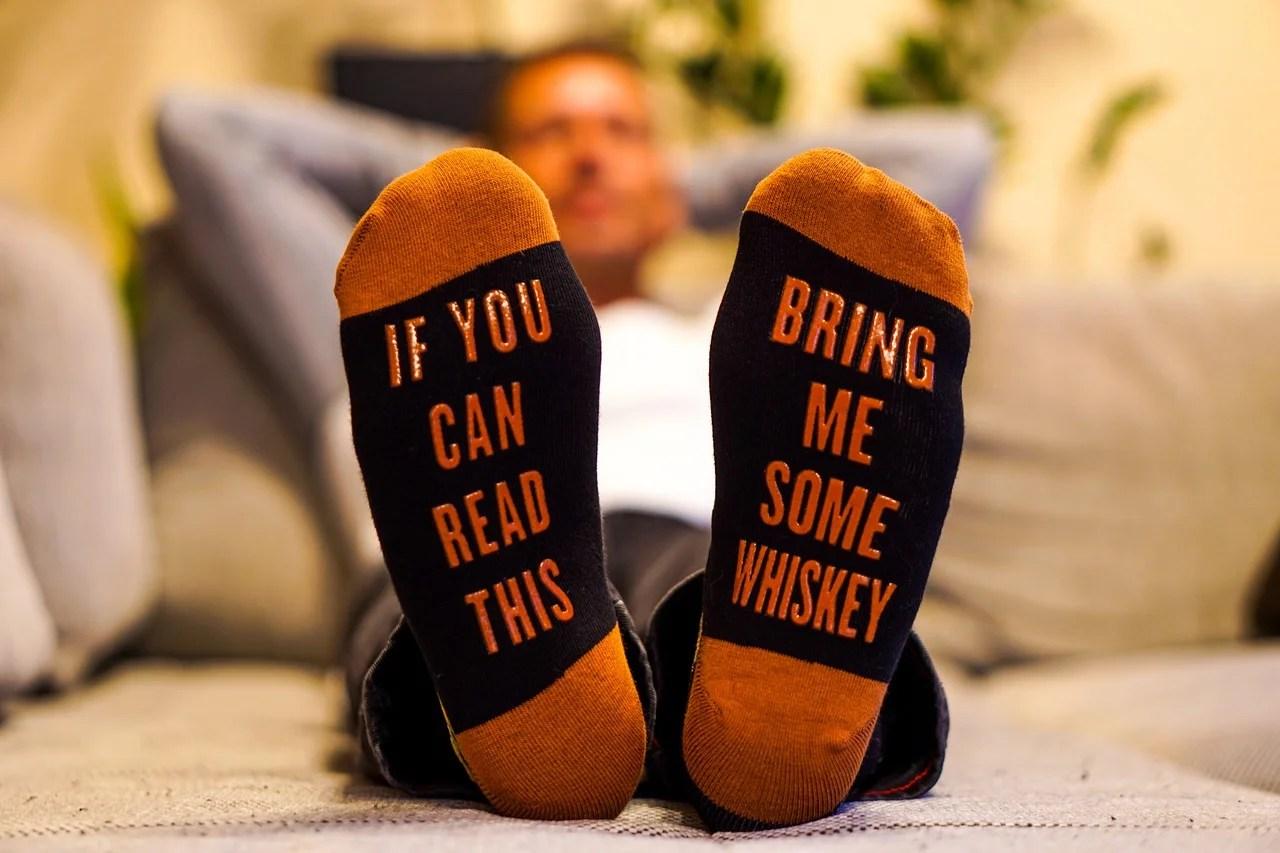 Chaussettes homme fantaisie : du pep's et du fun à vos pieds