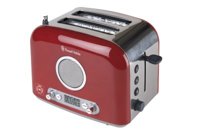 Russell Hobbs Toaster MP3 rouge