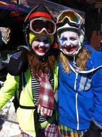 4 tignes clowns