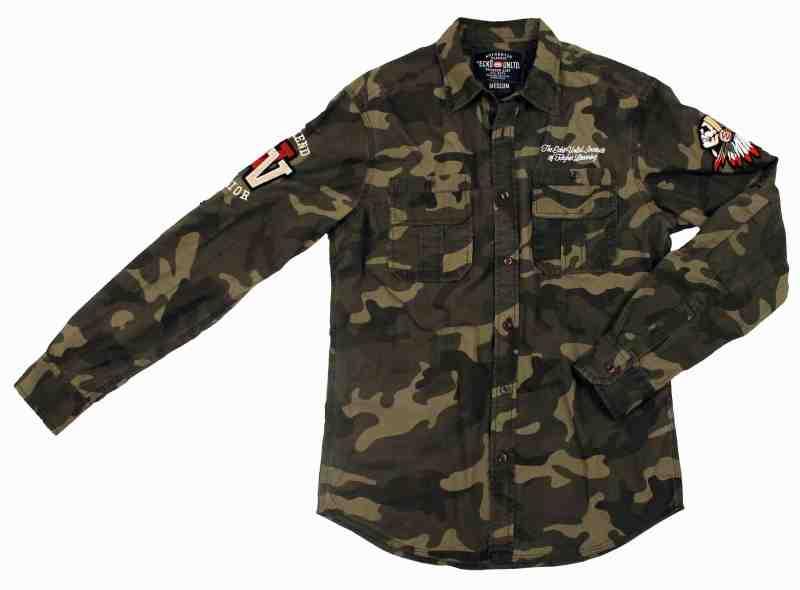 chemise camouflage ecko unltd
