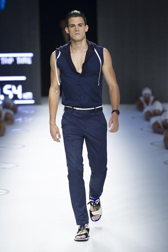 Dirk Bikkembergs Sport Couture Summer 2015_11