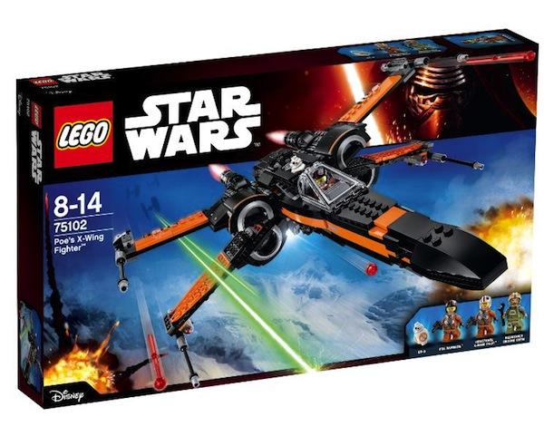 Poe's X-Wing fighter LEGO Star Wars boite