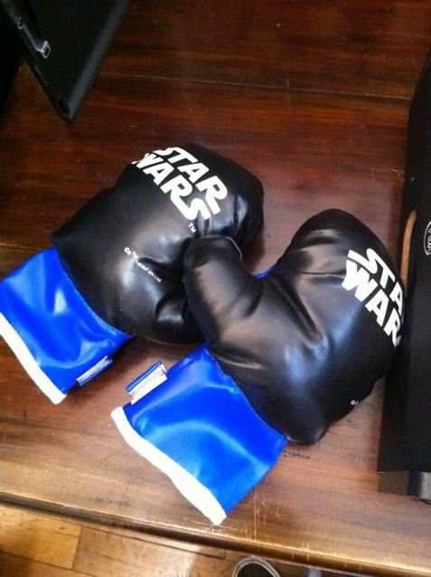 gant de boxe star wars