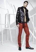 Jitrois pantalon rouge