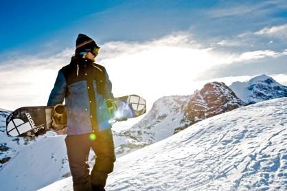 Protest tenue de ski