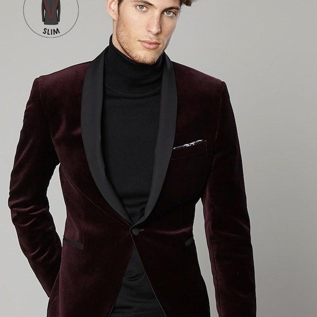 6178613ed Mode homme hiver 2016 : Blousons et vestes en velours lisse