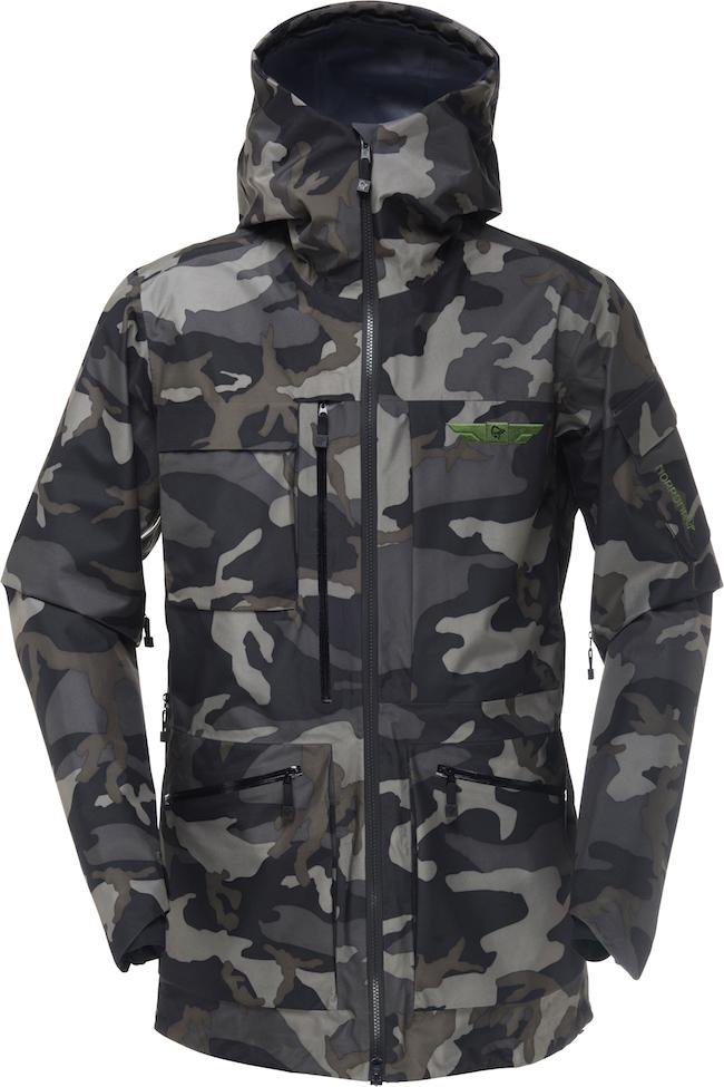 veste de ski camouflage