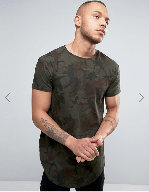T-Shirt camouflage Illusive London