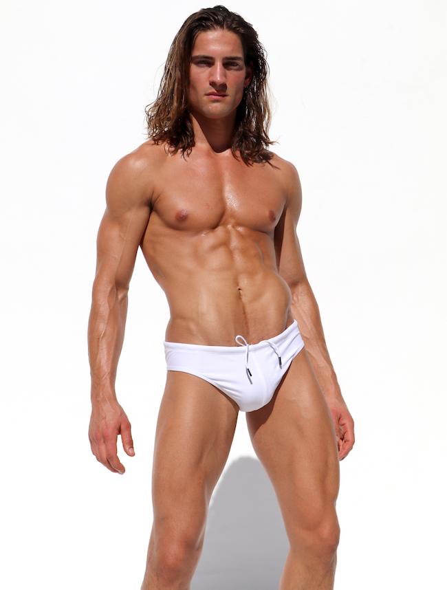 rufskin maillot de bain homme blanc