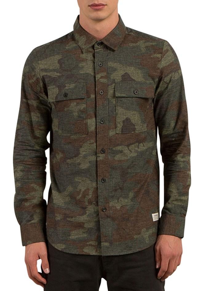 chemise camouflage