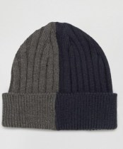 ASOS Half And Half Beanie