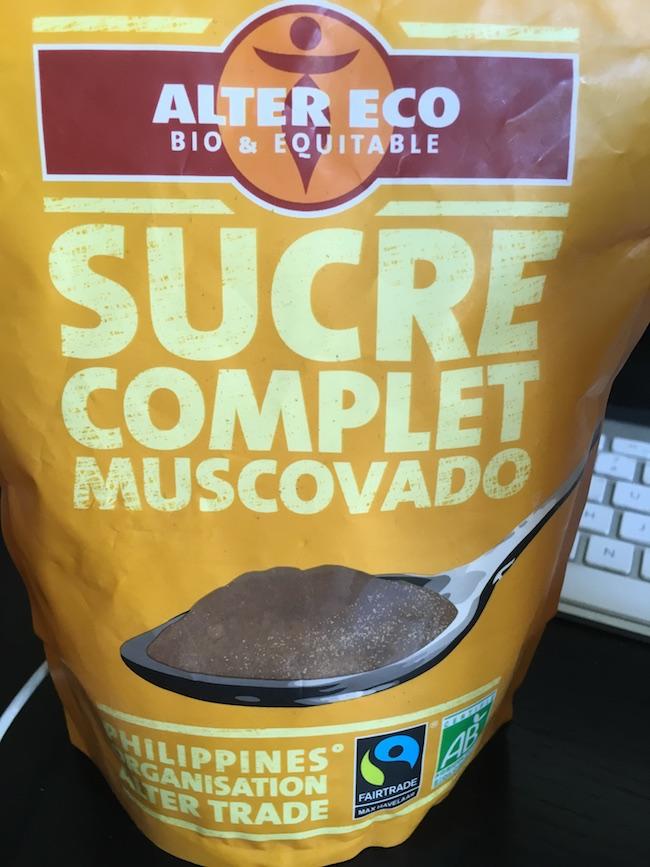 sucre muscovado