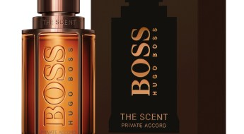 The scent private accord for him de Boss