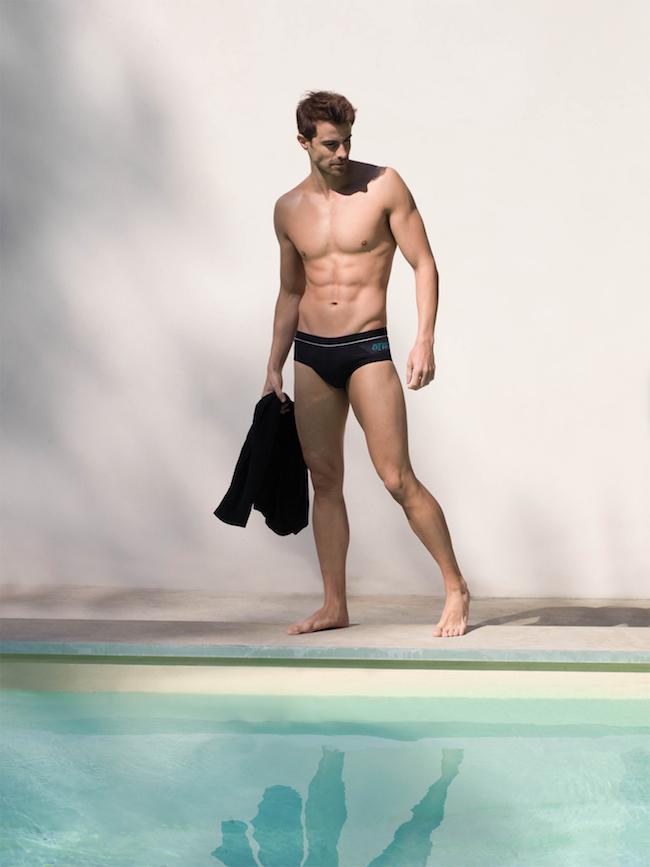 maillot de bain homme noir