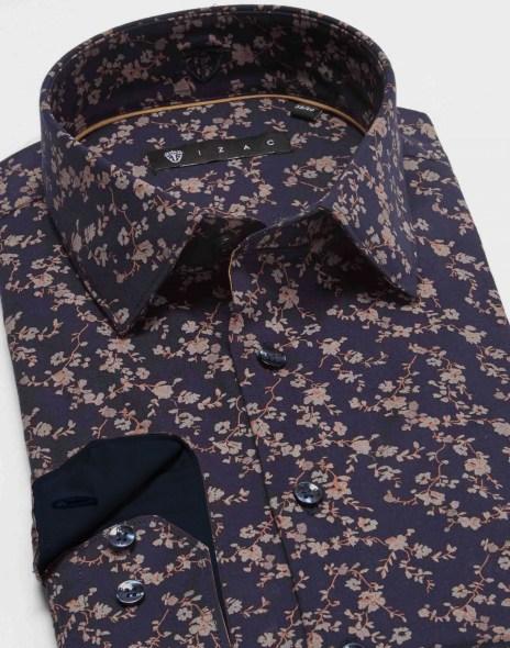 chemise homme Izac à fleurs