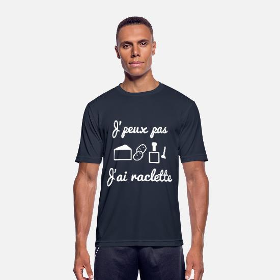t-shirt J'peux pas, j'ai raclette