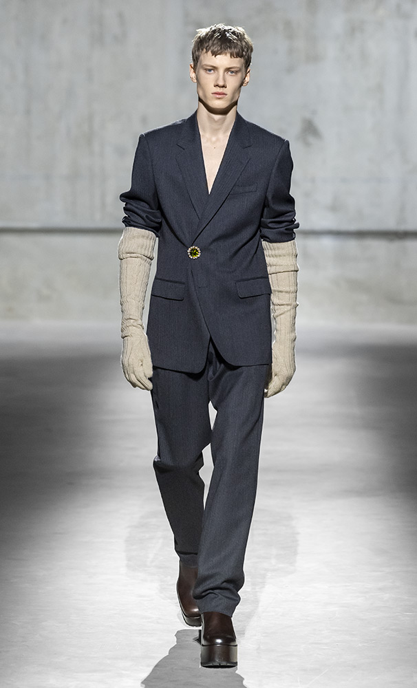 costume hiver Dries Van Noten