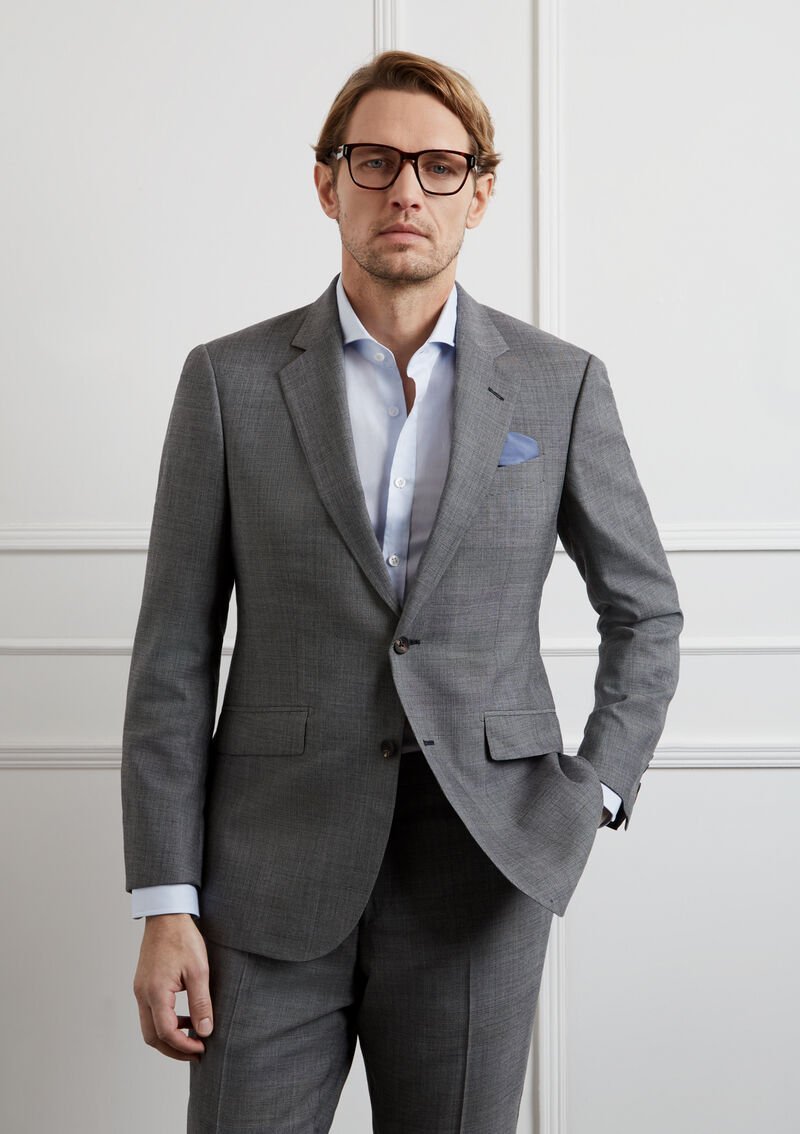 costume homme gris