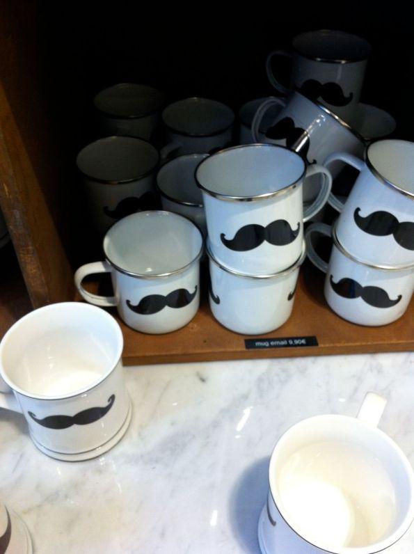 mug moustache