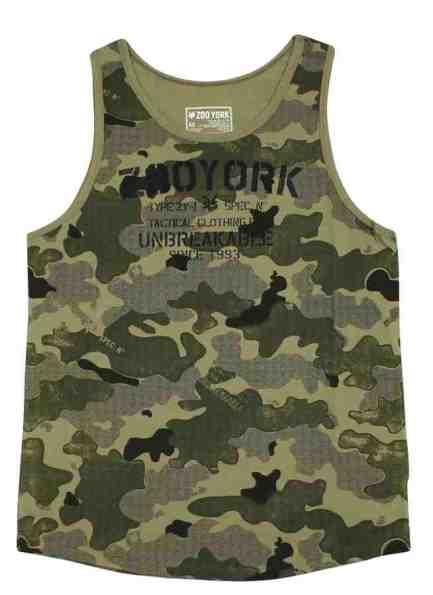 debardeur zoo york camouflage