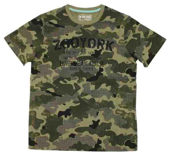 T-shirt zoo york camouflage