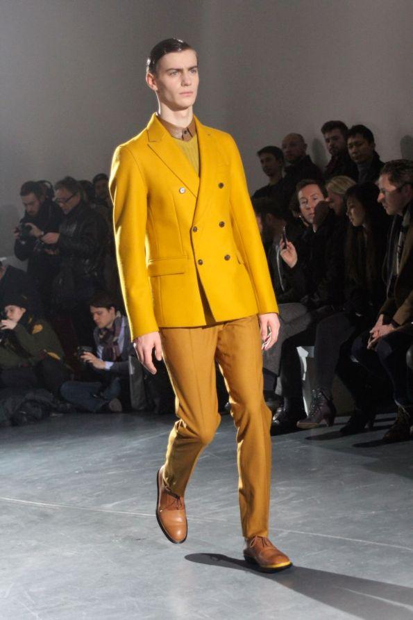 wooyoungmi homme hiver 2013 blazer jaune