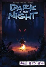 Cover von Dark is the Night; Jäger mit Biest