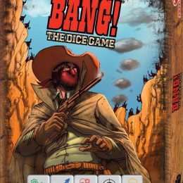 Cover von BANG! The Dice Game: vermummter Cowboy