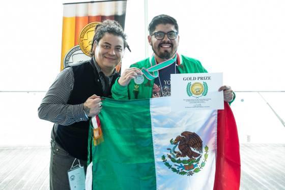 Francisco Gonzalez medalla de oro